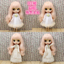 "12"" Neo Blythe Doll Pink Hair Nude Doll from Factory Ca5008"