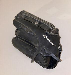 Easton Mako Softball Mitt - Left Hand Thrower Glove - MKESP1400 - Black