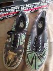 Vans Native Camo Bull Mixed Camo Black Mens Size USA 13 Skate Shoes Men Sneskers