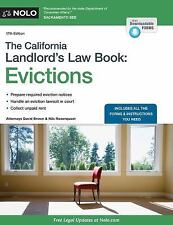 California Landlord's Law Book, the: Evictions : Evictions by Andrew Zacks,...