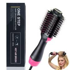 Hot Air Hair Dryer Negative Ion One Step Styling Blower Brush Straight/Curl