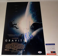 ALFONSO CUARON DIRECTOR SIGNED AUTOGRAPH GRAVITY MOVIE POSTER PSA/DNA COA
