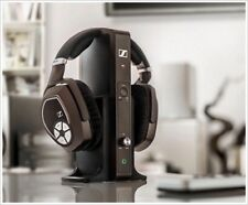 SENNHEISER RS 185 RS185 WIRELESS HEADPHONES COMPLETE SYSTEM/AUTH DEALR WITH WNTY