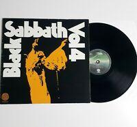 BLACK SABBATH VOL. 4 GATEFOLD VINYL LP 1972 VERTIGO SPACESHIP LABEL GERMANY RARE