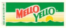 "Mello Yello Vending Machine Insert, Mountain Logo 1 3/8"" x 3 3/8"""