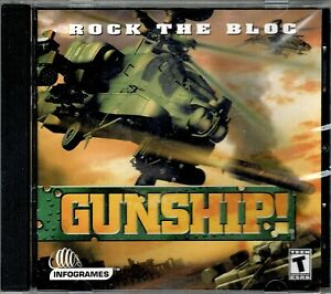 Gunship Rock The Bloc Pc Sealed New Military Helicopter Warfare MPN 22458CD