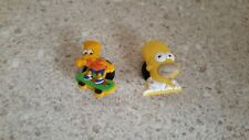 Lot of 2 Simpsons shoe charms for Crocs shoes. Other uses Crafts, Scrapbook