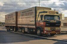 LKW Foto DAF 3600 2a/3a Hängerzug Van Maanen Niederlande 10x15cm/LF288