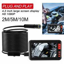 """4,3""""LCD 1080P 8mm Endoscopio Ispezione Periscopio USB Cablata Tube Telecamera"""