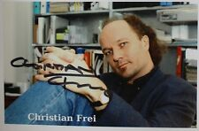Christian Frei - Swiss filmmaker, Autogramm , Autograph_2