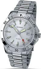 Gents Sekonda Analogue Stainless Steel Bracelet Watch 3278