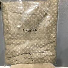 Calvin Klein Home Wellfleet Lucent Weave FULL / QUEEN Coverlet - Pearl
