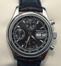 Armand Nicolet Tramelan Automatic 10ATM/330 ft Chronograph Watch - Mint- in box!