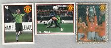 Football 3 sticker lot Peter Schmeichel Manchester United England Panini 2006