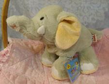 """9"""" Ganz Webkinz Velvety Elephant Plush Grey HM 167 Sealed Code"""