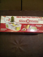 SLICE-O-MATIC FRUIT & VEGETABLE SLICER MODEL# 97298