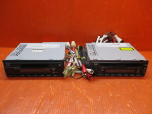 Nakamichi CD-45z + MD-30z CD / MD player set 1 DIN