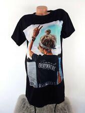 MADE IN ITALY POP ART Oversized Shirt Longshirt BLOGGER TRAVEL 36 38 40