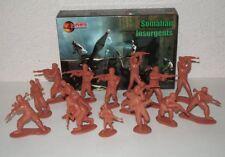 Mars 32012. 1/32 Somalian insurgents. Modern guerrilla warfare. Plastic soldiers