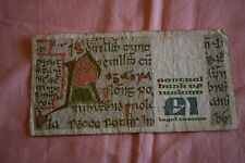 Central Bank Of Ireland One Pound £1 Banknote 15.02.89  DLK 944696 ROUGHEST NOTE