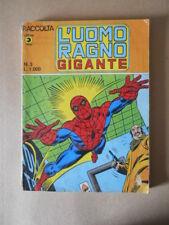 Raccolta L'UOMO RAGNO GIGANTE n°3 1980 Edizioni Corno [G492]