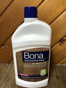 Bona Hardwood Floor Polish - High Gloss 32oz Brand New