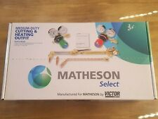 New listing Matheson Select By Victor Medium-Duty Cutting & Heating Outfit Oxygen-Acetylene