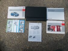 VAUXHALL MERIVA KK1 MPV MODELS 2006-  2010 BLACK WALLET WITH OWNERS MANUAL PACK