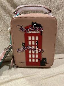 Vendula London Cats Crossbody Bag