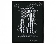 MACHINE HEAD war 2005 - WOVEN SEW ON PATCH official merchandise