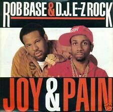 "ROB BASE D.J. E-Z ROCK JOY & PAIN 7"" VINYL SINGLE S2793"