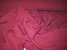 """BURGANDY 4 WAY STRETCH BUBBLE KNIT FABRIC 58"""" WIDE BY THE YARD"""