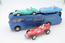 CORGI TOYS  * ECURIE ECOSSE RACING CAR TRANSPORTER SET * ORIGINAL * 1:43