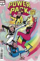 Power Pack Grow Up Comic Issue 1 Cover B Variant Charretier 2019 Louise Simonson