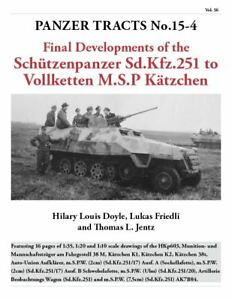 Panzer Tracts No. 15-4 - Final development of m.SPW