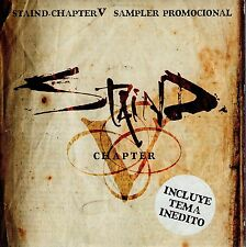 STAIND CHAPTER V CD SAMPLER RARE SPAIN CARPETA CARTON 3 TRACKS