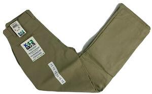 K12 Gear Boys School Uniform Pants NWT 6546BS Khaki/Navy/Gray Var. Sizes UNI13