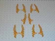 LEGO ® 10x 98141 armi Ninjago raccolta ORO Sense lama spada 9441 NUOVO f14