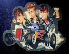 THE STRAY CATS SHE'S SEXY AND SEVENTEEN 17 SHAPED VINYL PICTURE PIC DISC 45