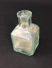 Antique Green Tint Ink Bottle