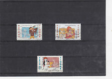 FRANCE 2008 FETE DU TIMBRE TEX AVERY SERIE COMPLETE 3 TIMBRES OBLITERE 160 A 162