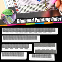 5D Diamond Painting Ruler Drawing Stainless Steel Embroidery  Drill Tools Kit
