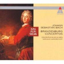 NIKOLAUS HARNONCOURT/CMW - BRANDENBURGISCHE KONZERTE 1-6 2 CD  19 TRACKS  NEU