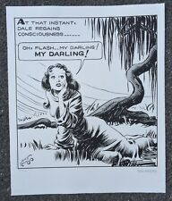 Alex Raymond Flash Gordon Lithograph. King Features Archives Fine Art. Numbered