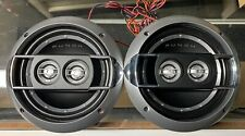 """NEW Old School Rockford Fosgate P162S 6.5"""" 3-way Coaxial Speakers,Rare,NOS"""