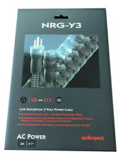 AudioQuest NRG-Y3 3-Pole AC Power Cable - 6.56' (2m)