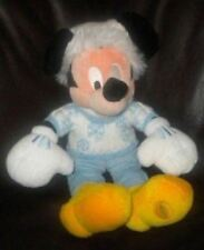 "DISNEY RARE MICKEY MOUSE COLLECTOR 14"" SNOWFLAKE SWEATER PLUSH DOLL BOYS GIRLS"