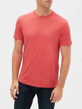 Bnew GAP Everyday Short Sleeve Crewneck Mens T-Shirt, Cayenne Red, Large