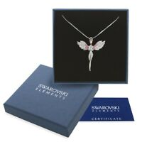 Collana argento Swarovski Elements originale G4L cristalli angelo regalo donna