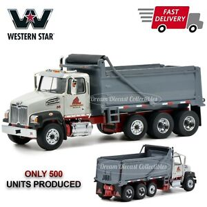 S.M. LORUSSO & SONS INC WESTERN STAR 4700 DUMP TRUCK 1:50 DIECAST MASTERS 63400